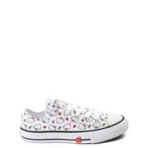 Size 8 Converse Hello Kitty White Low Top Shoes